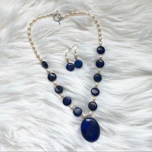 Lapis Lazuli Stone Set